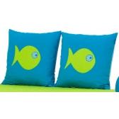 Pagalvių kompl. Aqua Fish