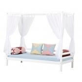 Aukšta BASIC, modulinė lova, su baldakimu