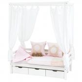 Aukšta BASIC, moduliuojanti lova, su baldakimu