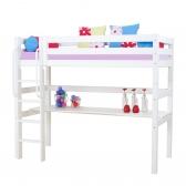 Aukšta XXL, moduliuojanti lova su stalu