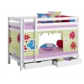 Dviaukštė XXL, moduliuojanti lova