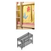 Dviaukštė lova BASIC (160 x 70 cm)
